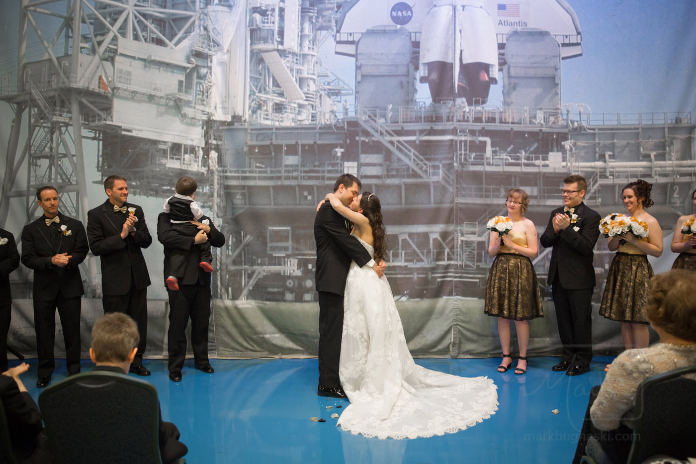 Air zoo wedding